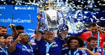 Chelsea win league 2014/15