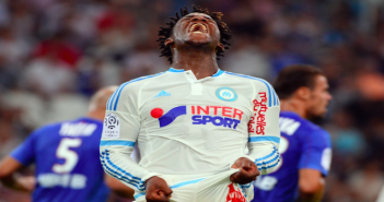 Michy frustrated - Marseille