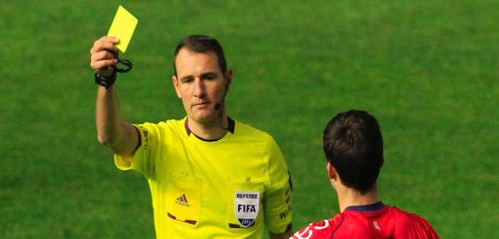 Referee - Carlos Clos Gomez