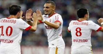 Monaco celebrate