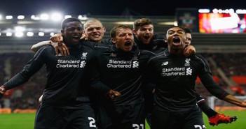 Liverpool away 2015/16