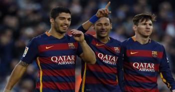 Barcelona - Messi, Neymar, Suarez