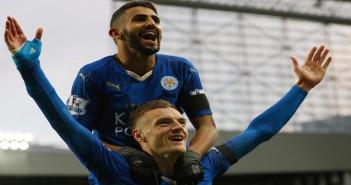 Vardy + Mahrez - Leicester