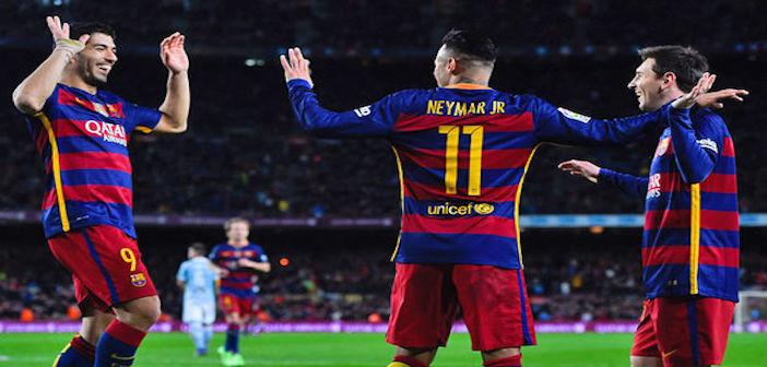 Barcelona - Suarez, Neymar, Messi
