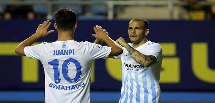 Malaga - Sandro, Juanpi