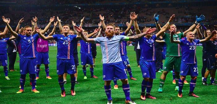 Iceland Viking clap