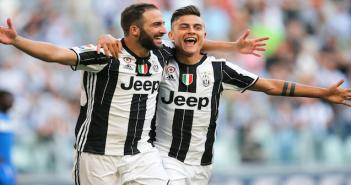 Juventus - Higuain/Dybala