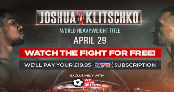 Joshua v Klitschko offer