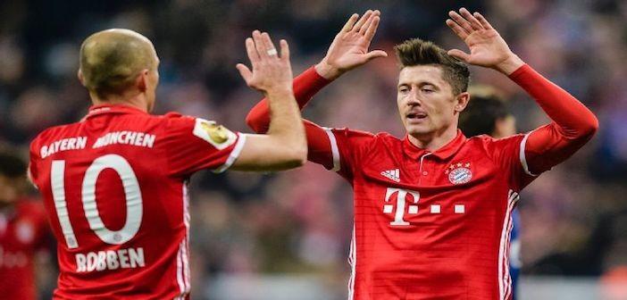 Bayern 2017 - Robben/Lewy