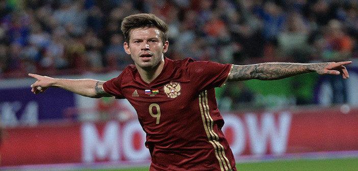 Fyodor Smolov - Russia