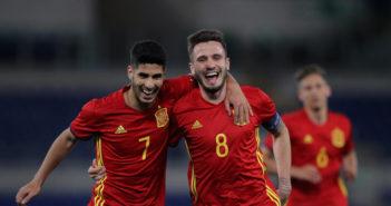 Saul, Aesnio - Spain U21