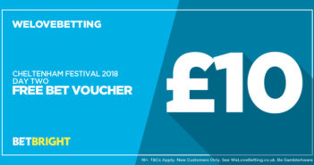 Cheltenham £10 Free Bet