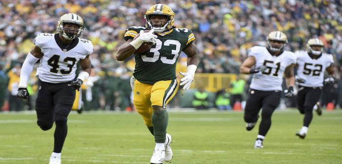 Aaron Jones - Green Bay Packers