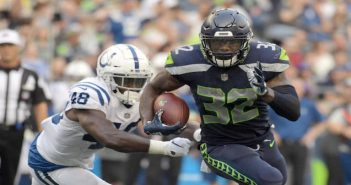 Chris Carson - Seattle Seahawks
