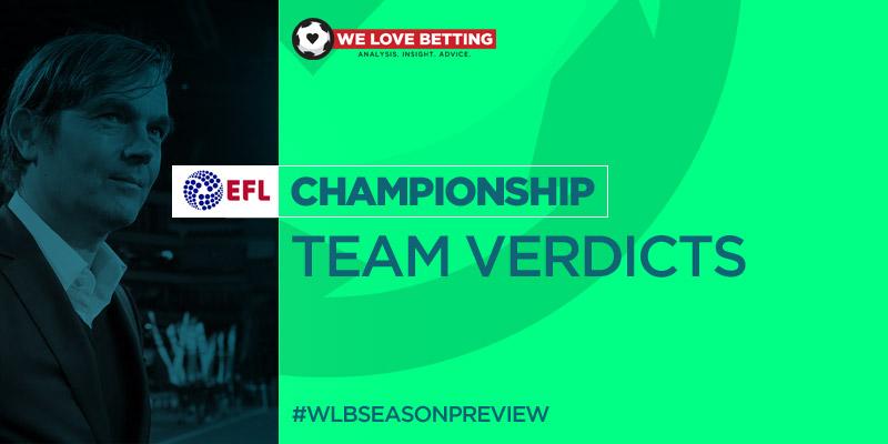 WLB Season Preview 2019/20 | Championship: Team Verdicts