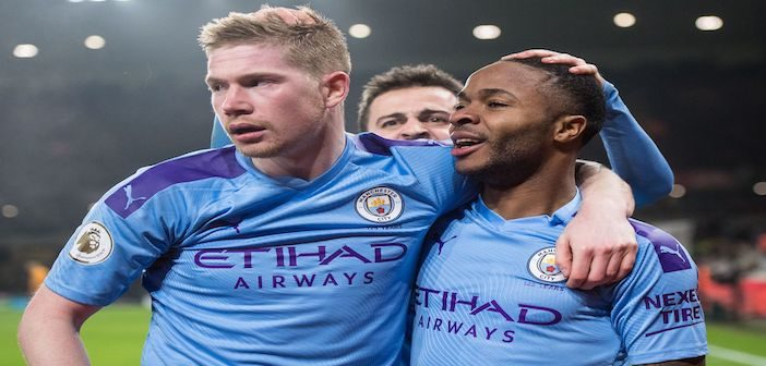 De Bruyne, Sterling - Man City