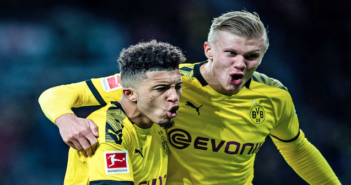 Haaland Sancho - Dortmund