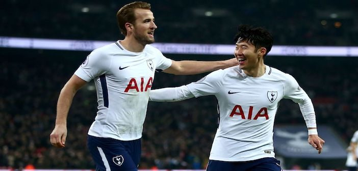 Son and Kane - Spurs