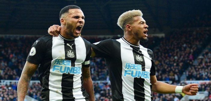 Lascelles and Joelinton - Newcastle